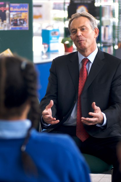 Tony Blair at Capital Academy